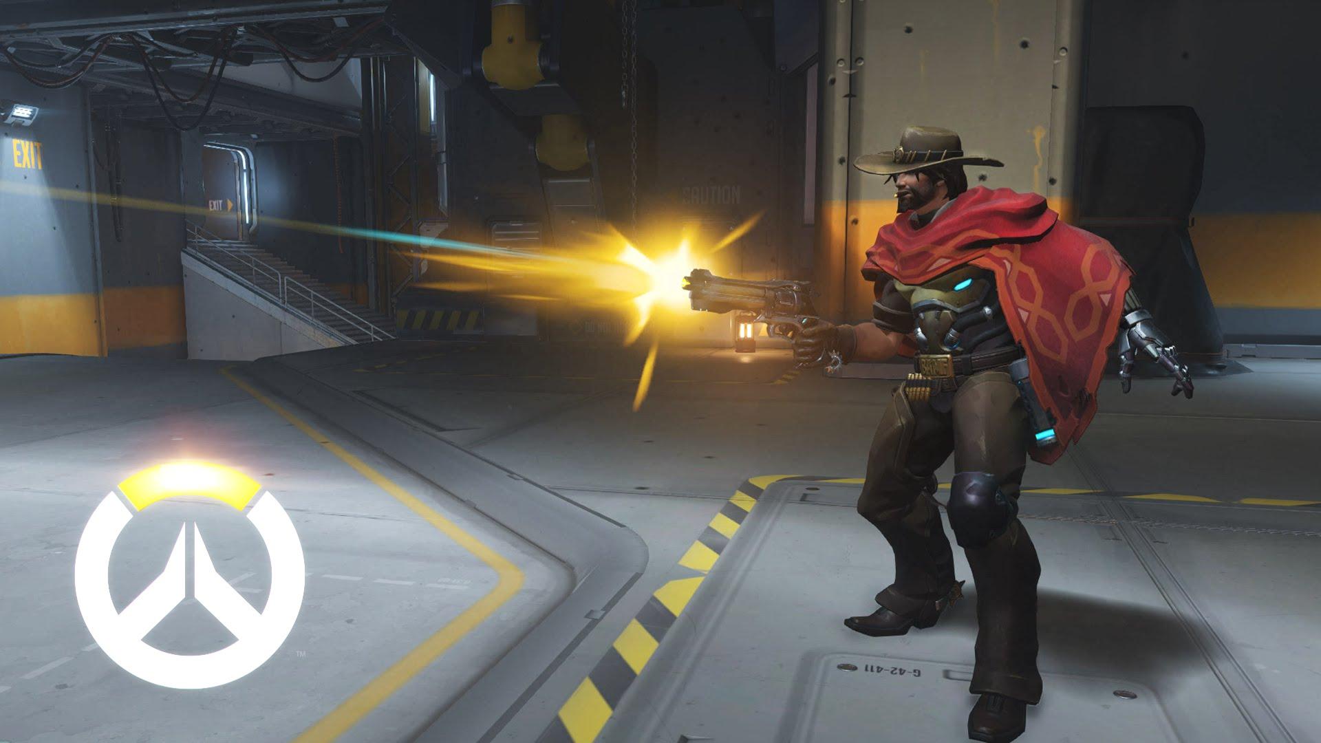 Overwatch: смотрите, как эти Маккри играют во Фроггер на Оазисе
