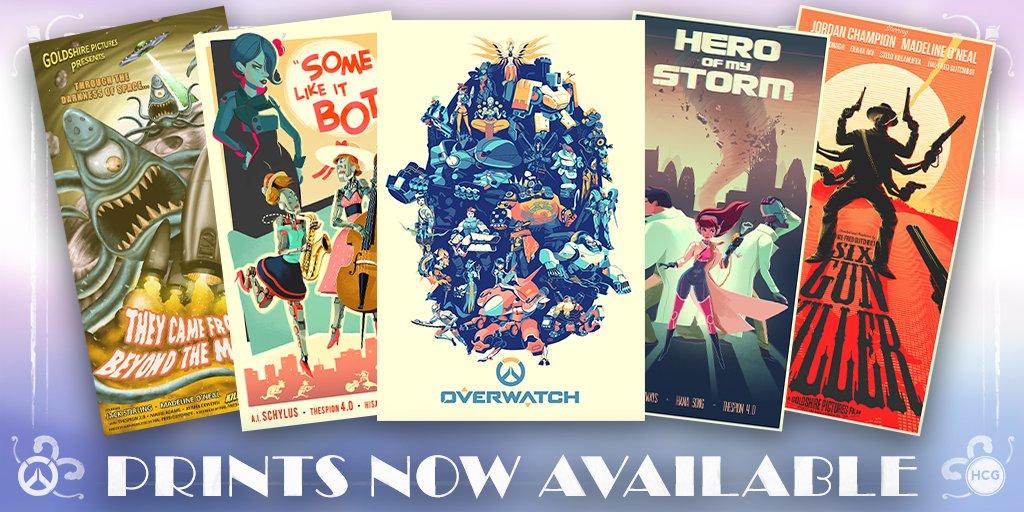 Овервотч: Внутриигровые киноплакаты теперь доступны для покупки