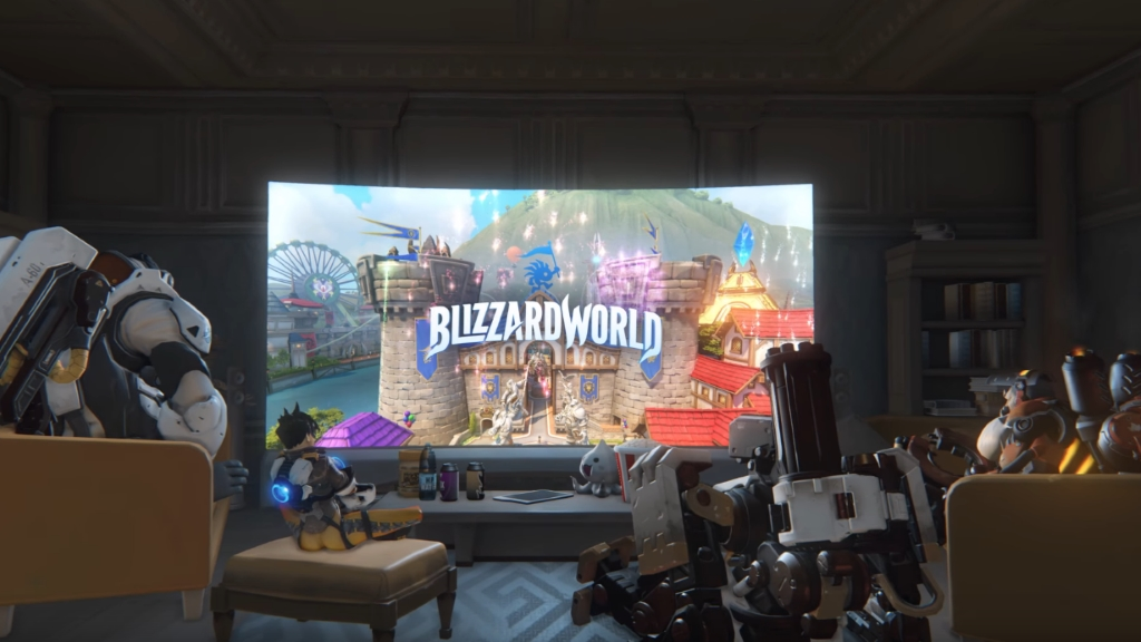 Overwatch: Гайд по Blizzard World