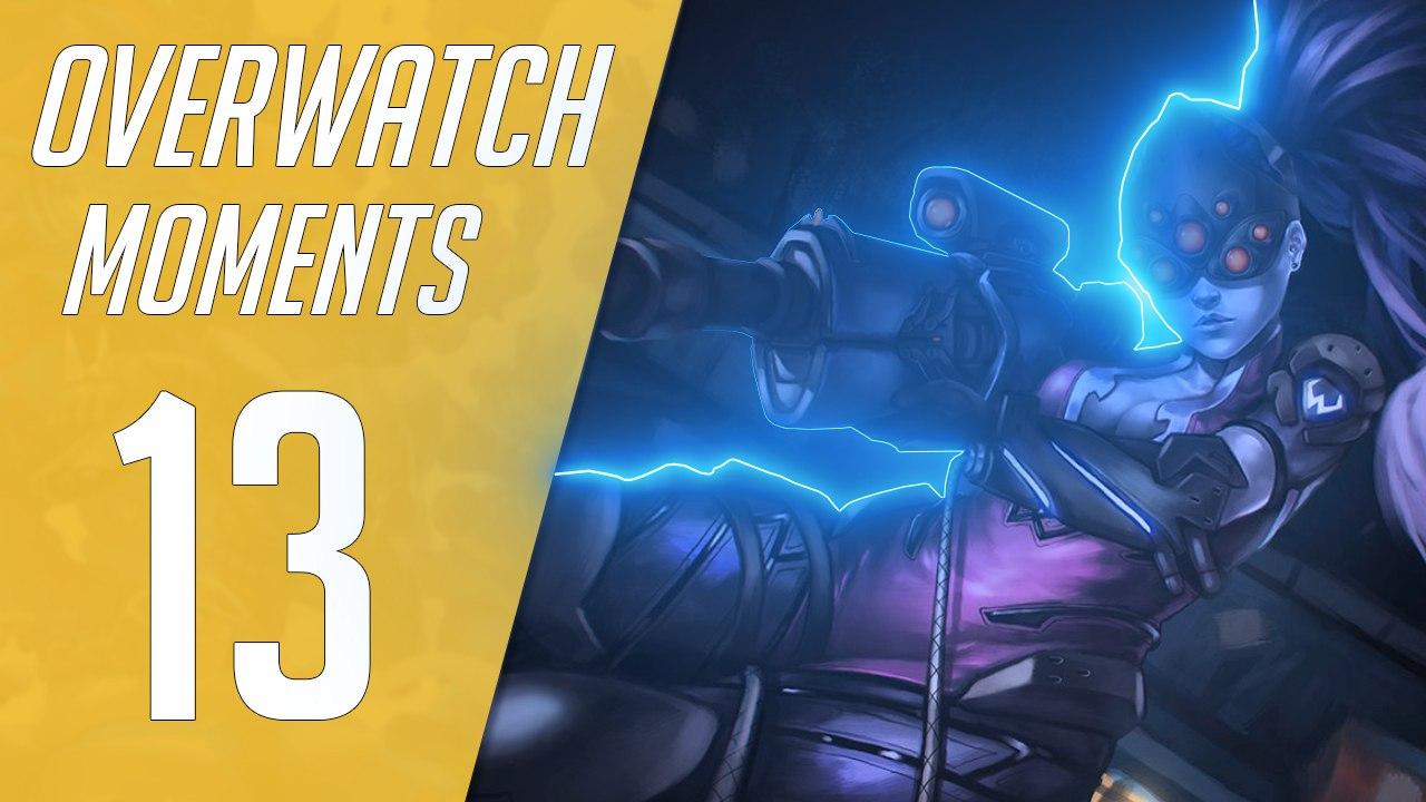 Overwatch видео с лучшими моментами №13