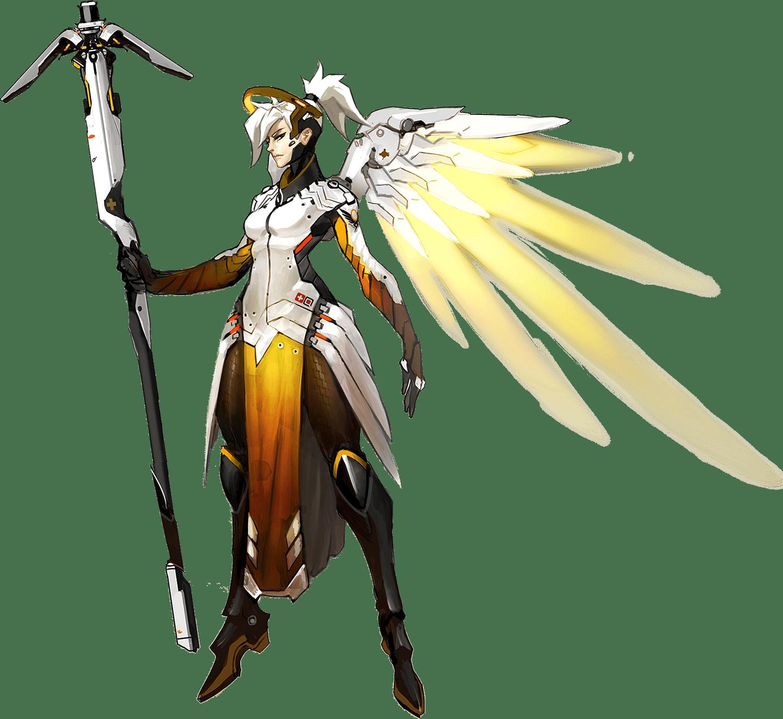 Overwatch Ангел (Mercy)