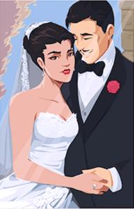 Свадьба Амели и Жерара