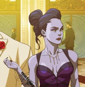 Роковая вдова в казино