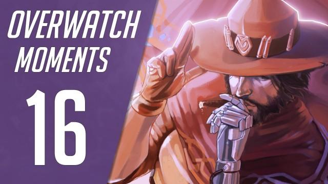 Лучшие моменты матчей 16 - Pro Overwatch
