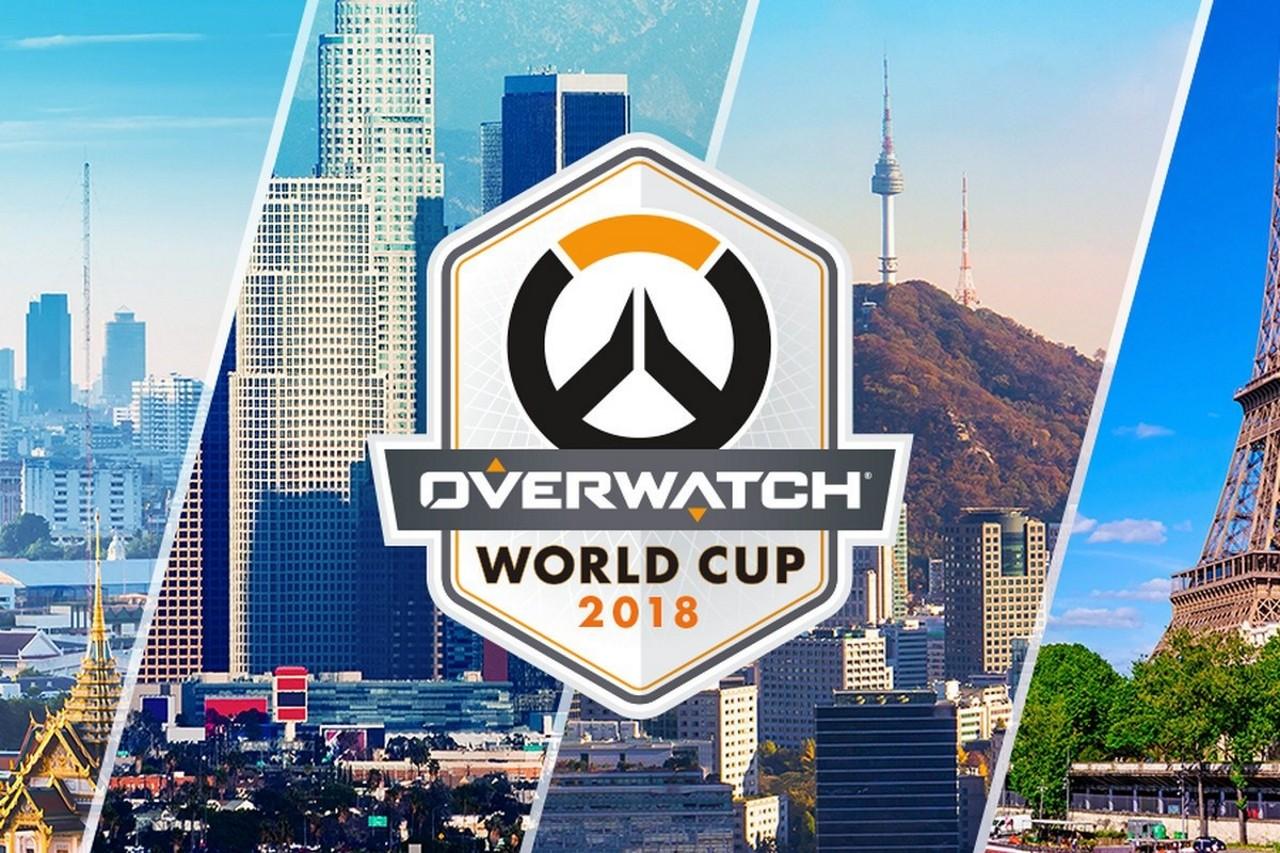 Команды Overwatch объявлены для предстоящих плей-офф Кубка мира