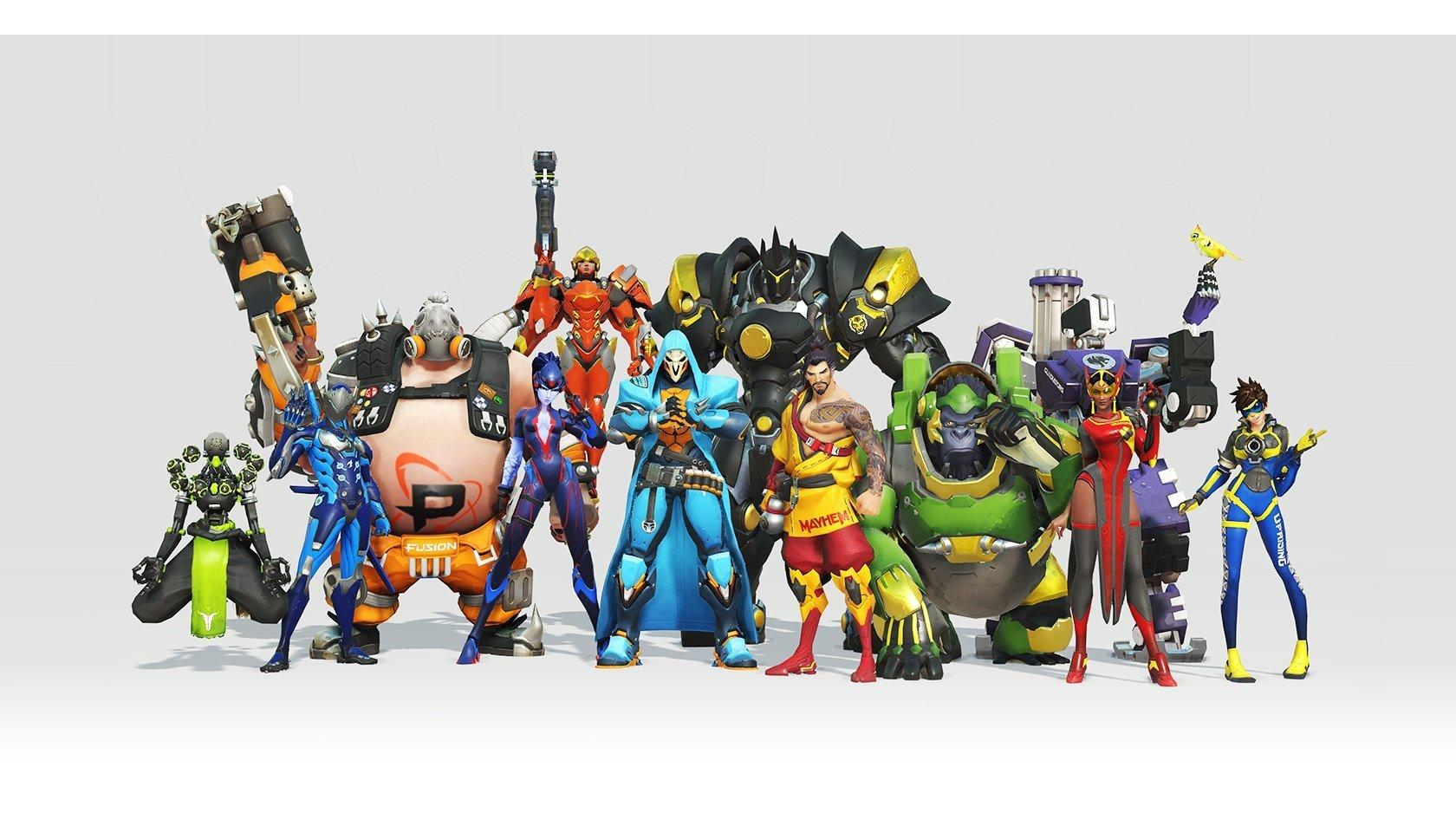 Добавлены облики команд Лиги Overwatch для расширенного состава 2019 года